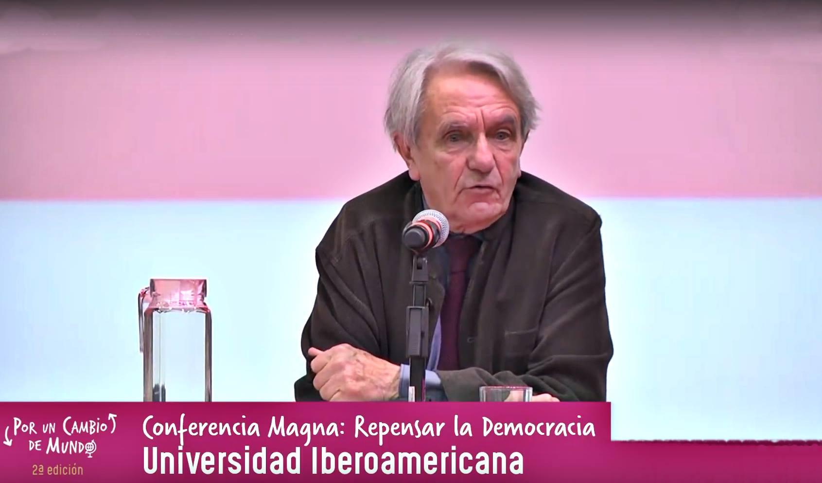 Conferencia de Jacques Rancière sobre la democracia en las calles